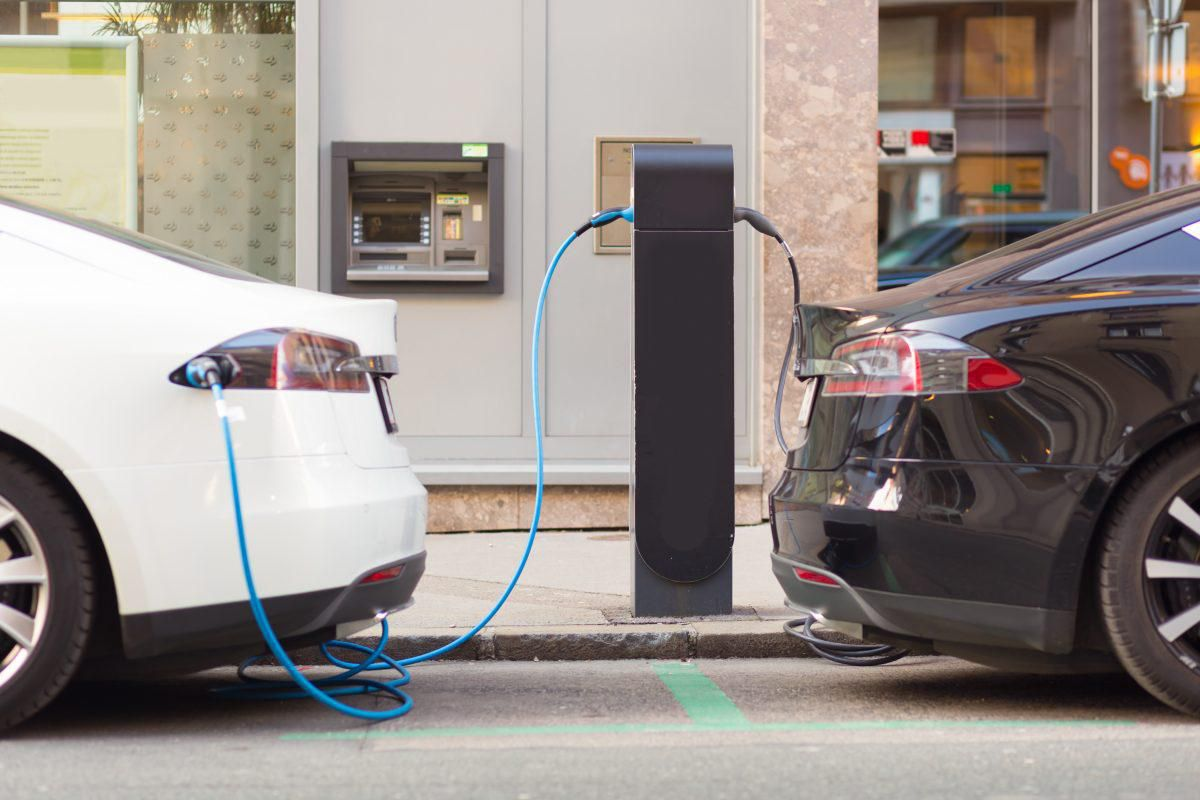 electric vechile charging status