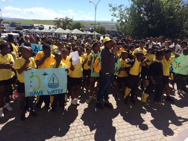 900 people atMatatiele Water Week March