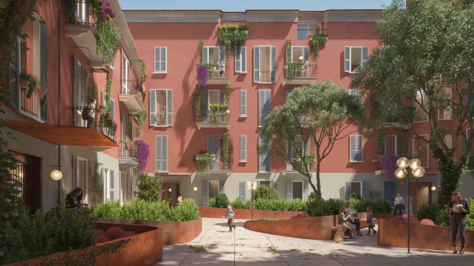 New project – Corti Segrete, Milan