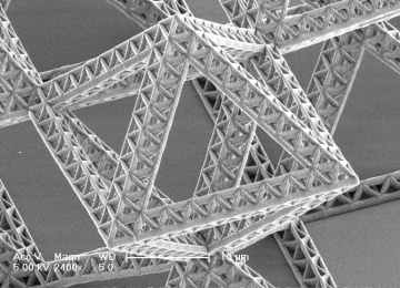 Fractal nanostructures – lightweight and incredibly strong