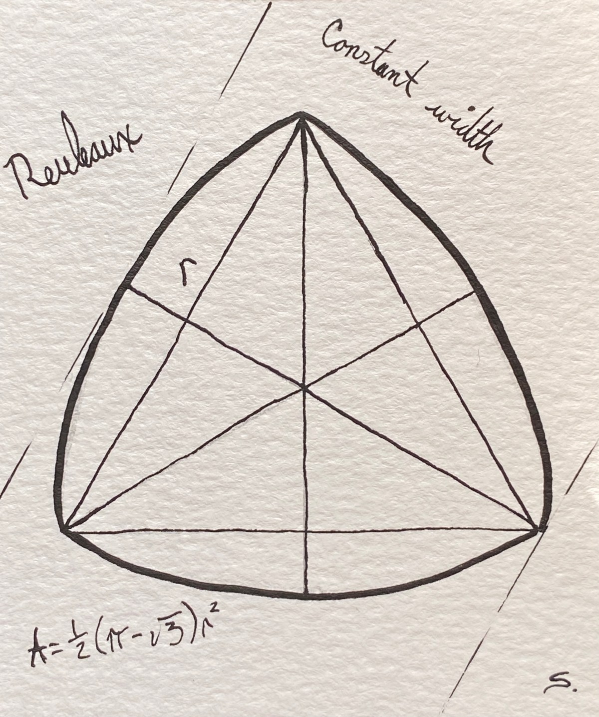 10/18/20: Difference - Reuleaux  Triangle w/ Constant difference