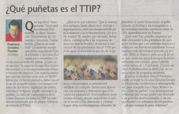 Que es el TTIP