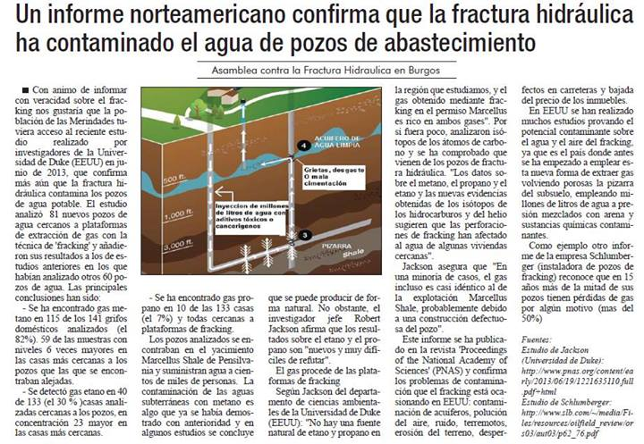 Reportaje Cronica8-2013 contaminacion gas