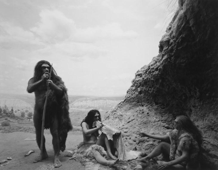 Neanderthal, 1994, gelatin-silver print