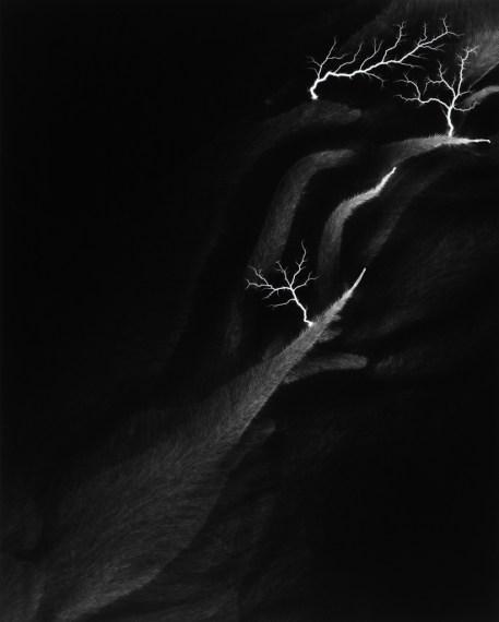 Lightning Fields 142, 2009, gelatin-silver print