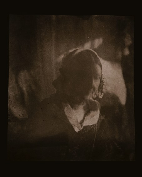 Believed to be Mlle. Amelina Petit, Talbot family governess circa 1840-1841, 2008, toned gelatin-silver print