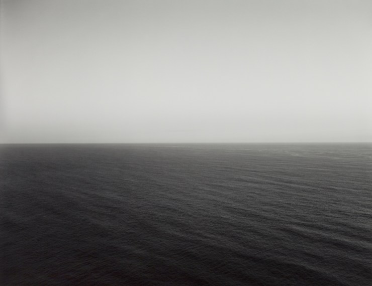 North Pacific Ocean, Oregon I, 1985, gelatin-silver print