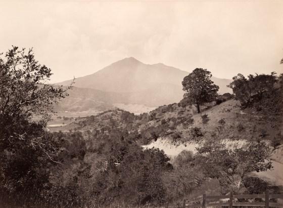 Mt. Tamalpais, California, ca. 1872-75, mammoth-plate albumen print