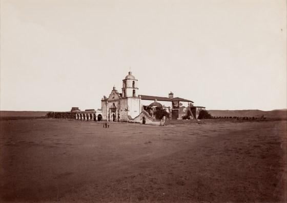 Mission San Luis Rey, ca. 1880, mammoth-plate albumen print