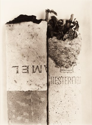 Cigarette No. 037, New York, 1972, platinum-palladium print