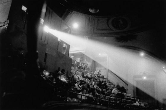 42nd Street movie theater audience, N.Y.C. 1958, gelatin-silver print
