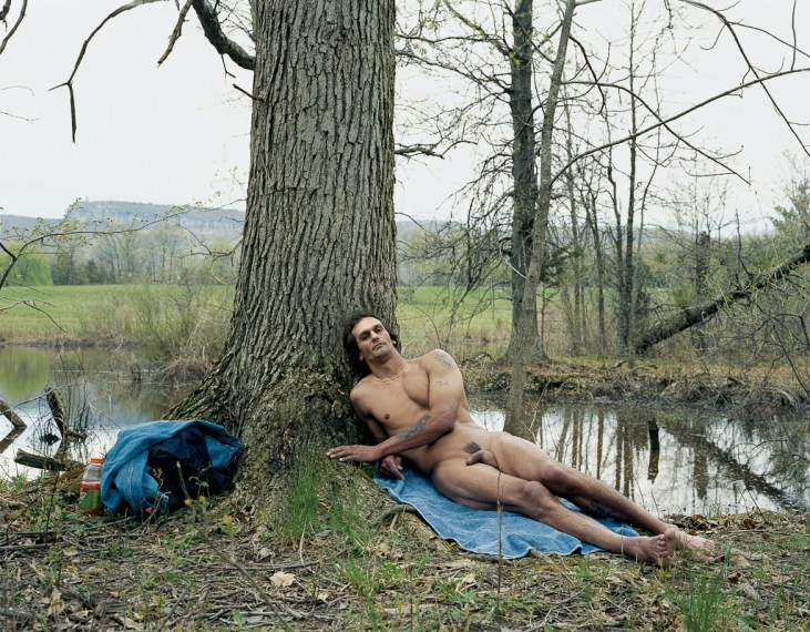 Mike, Private Property, New Paltz, NY, 2003, chromogenic print