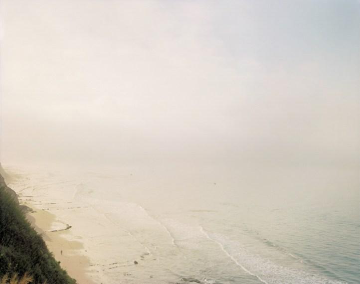 Man on Beach (Looking South), Santa Barbara, 1984, pigment print