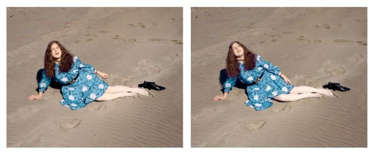 Gail, Ocean Beach (II), 2005, two pigment prints