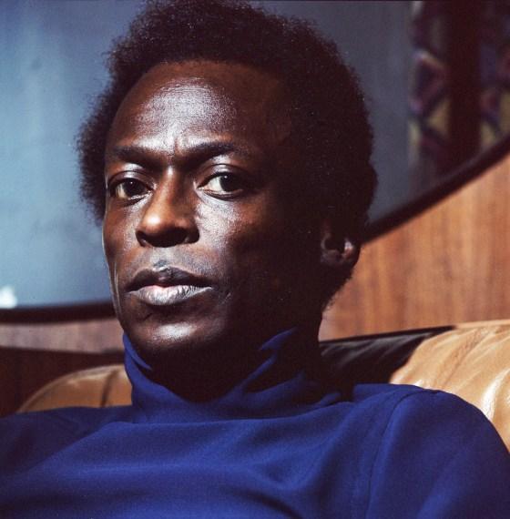 Miles Davis, 1969, Iris print