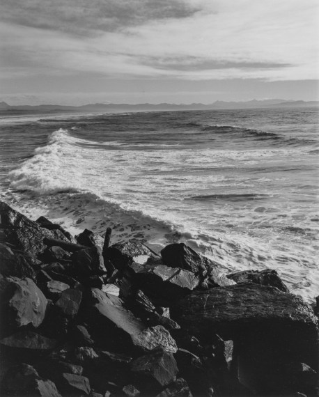 Southwest from the South Jetty, Clatsop County,