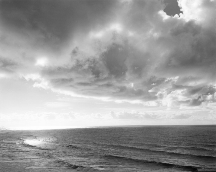 Looking south from Ecola, 1990, gelatin-silver print