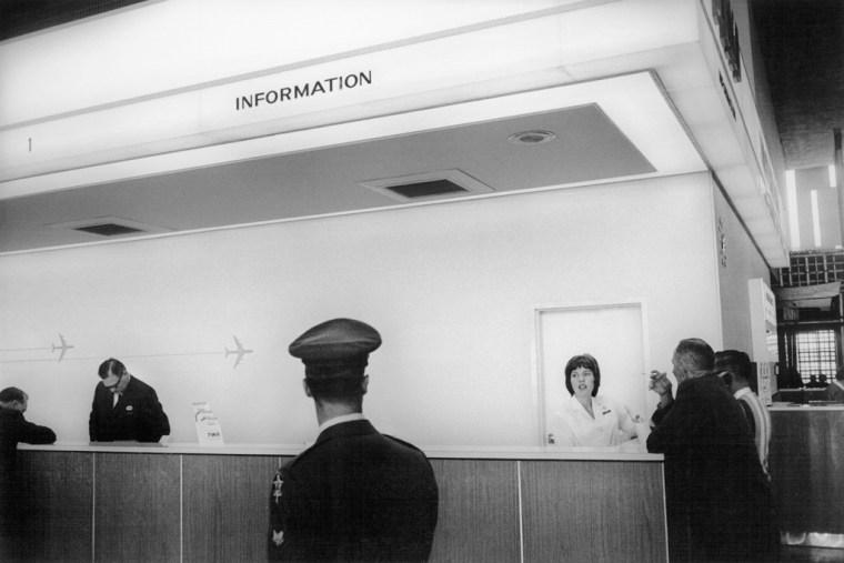 San Francisco International Airport, 1964, gelatin-silver print