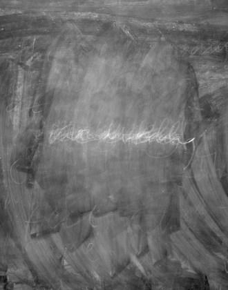 One Evening, 2012, digital bromide print mounted on rag board