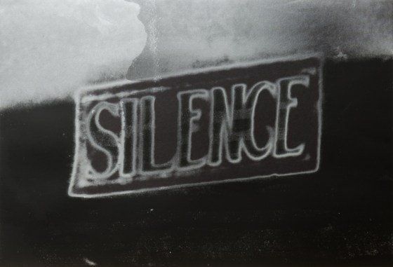 CHRISTIAN MARCLAY: Silence (The Electric Chair), 2006, silkscreen ink on paper