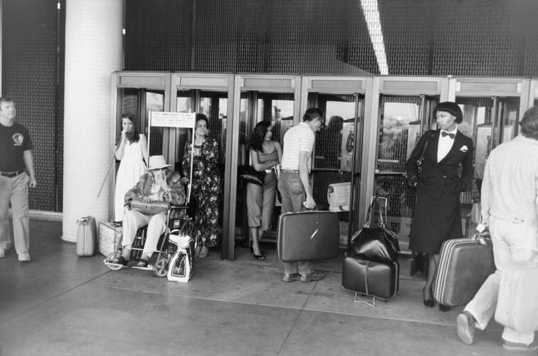 Los Angeles Airport, ca. 1975, gelatin-silver print