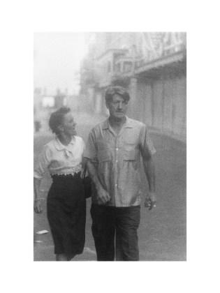 Couple arguing, Coney Island, N.Y. 1960