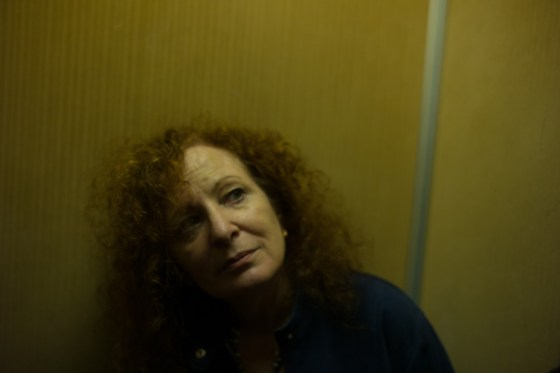 In the elevator at the Bauer, Venice, Italy, October 2013