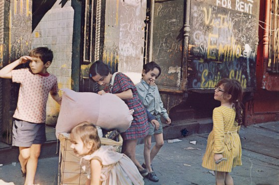 New York, 1972, dye-transfer print
