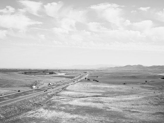 Katy Grannan, View of Stanislaus County from California Aqueduct Vista Point, Newman, CA, 2011