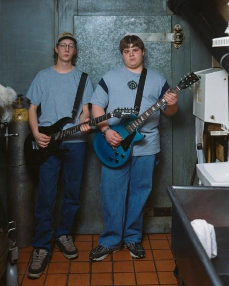 Kenny and Bill, Bad Newz, Grand Rapids, Minnesota, 2002