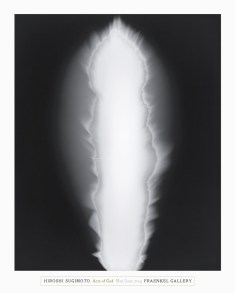 Poster of a black and white abstract photograph