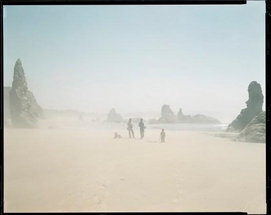 RICHARD MISRACH, Kodak, Donna, Debra, Jake, Oregon Coast, 1984
