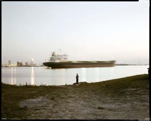 RICHARD MISRACH, Night Fishing, Near Bonnet Carré Spillway, Norco, Louisiana, 1998