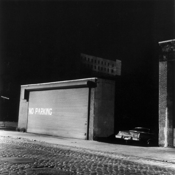 No Parking, 1976 /  printed later, pigment print