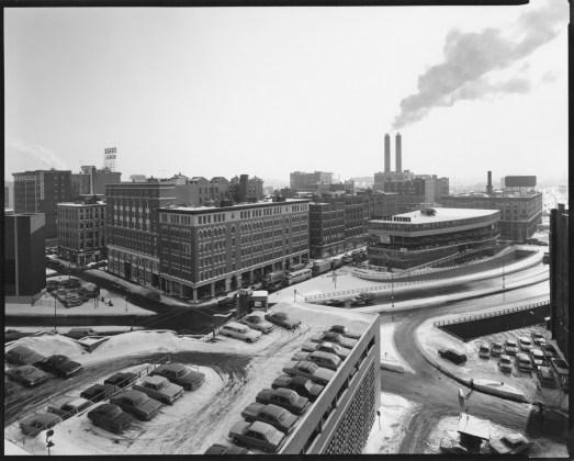 View of Essex Street, Near the Massachusetts Turnpike, Boston, 1976