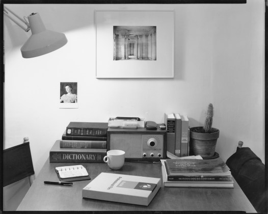 My Desk, Cambridge, 1975