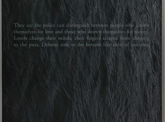 Suicide (detail), 2014