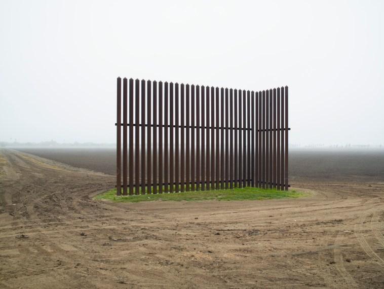 Wall, Near Los Indios, Texas, 2015, pigment print