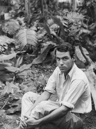 Peter Hujar, Joseph Raffael at the Botanical Gardens, 1956
