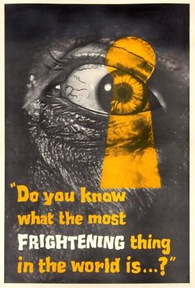 Peeping Tom, Dir. Michael Powell.  Perf. Karlheinz Böhm. Anglo-Amalgamated Film Distributors, 1960. Film poster.
