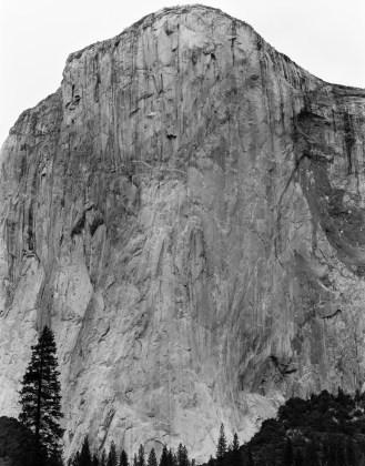 David Benjamin Sherry, Climbers on El Cap, Yosemite National Park, California, 2014, Archival pigment print