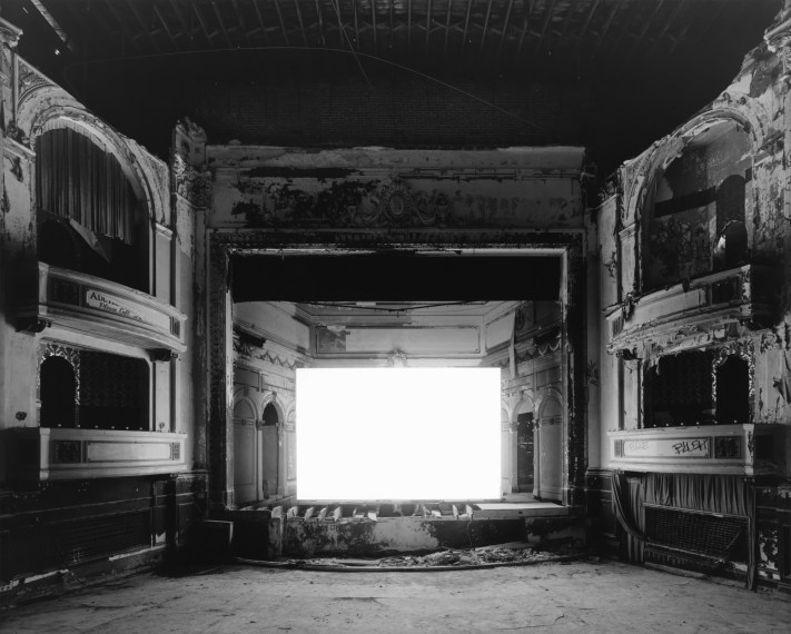 Everett Square Theater, Boston, 2015, gelatin-silver print