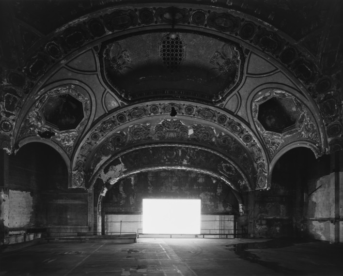 Michigan Theater, Detroit, 2015, gelatin-silver print