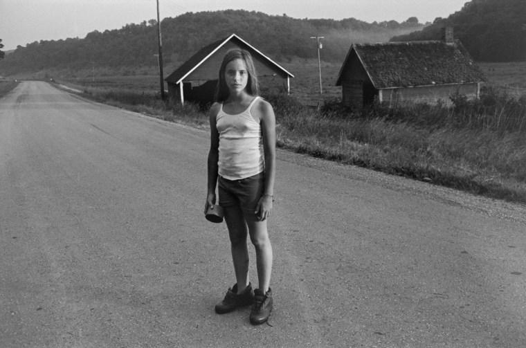 Anna, New City, 1973, gelatin-silver print