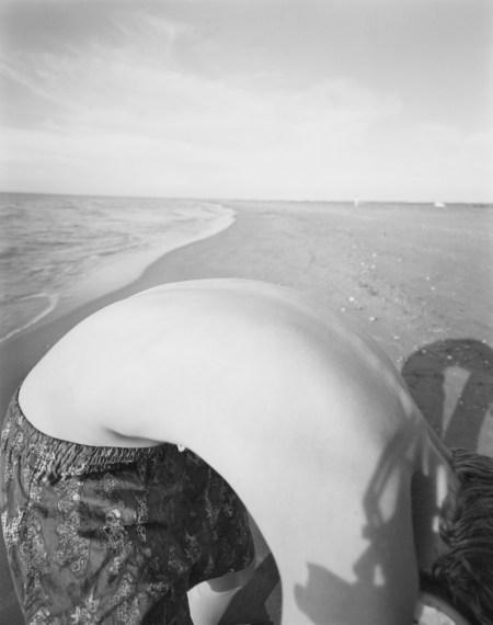 NICHOLAS NIXON, Sam, St. Maries de la Mar, France, 1997, gelatin-silver contact print