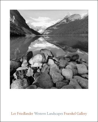Lee Friedlander: Western Landscapes (Poster)