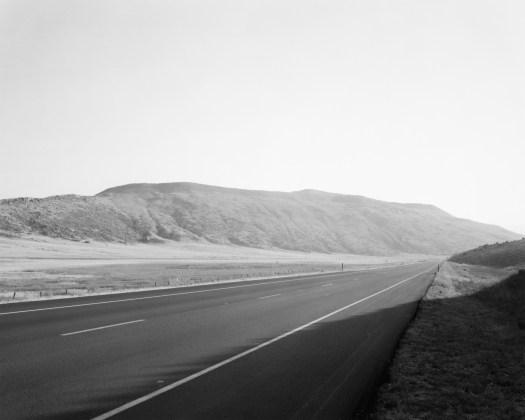 Along Federal Highway 287. North of Laporte,  Larimer County, Colorado, 1977