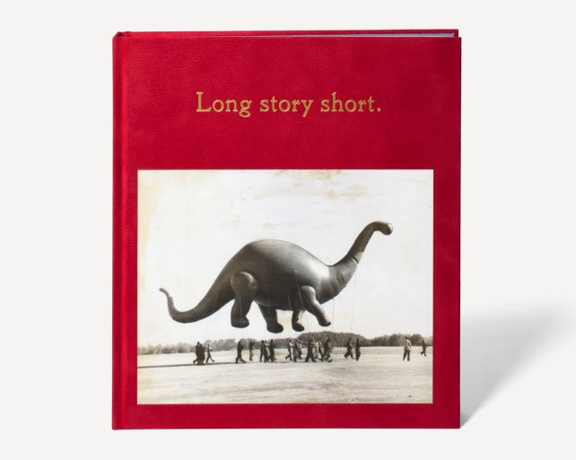 Book of vintage photographs