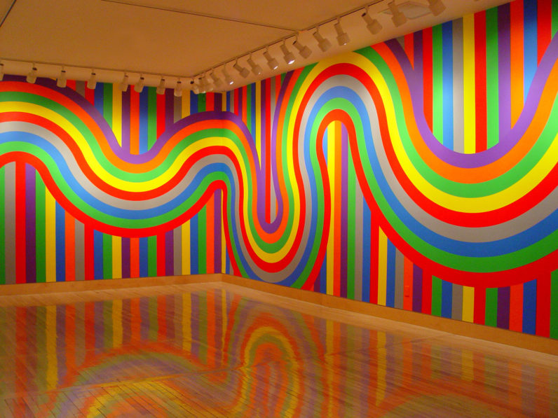 Sol LeWitt: New Wall Drawings and Photographs, 2004