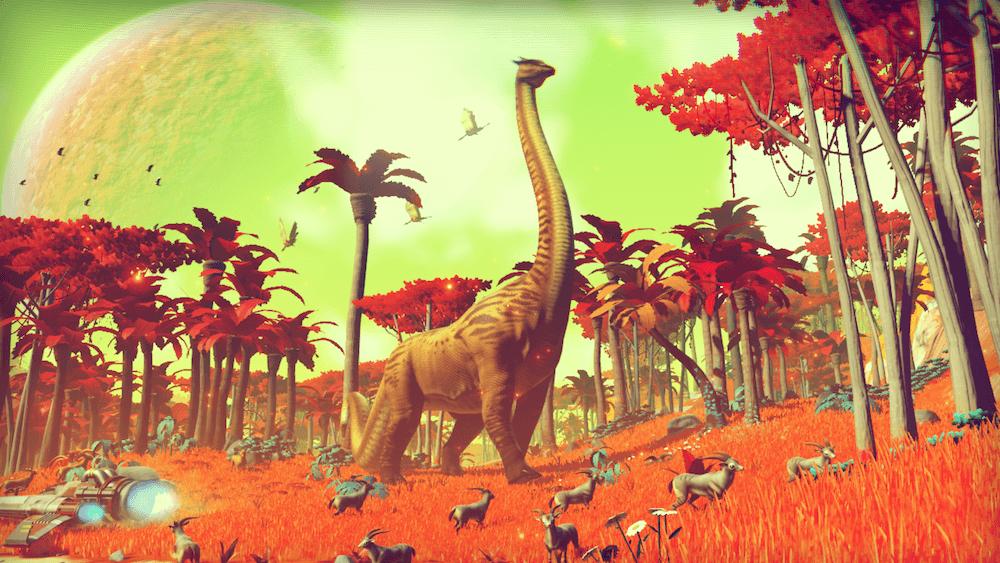 No Man's sky giant creatures 2